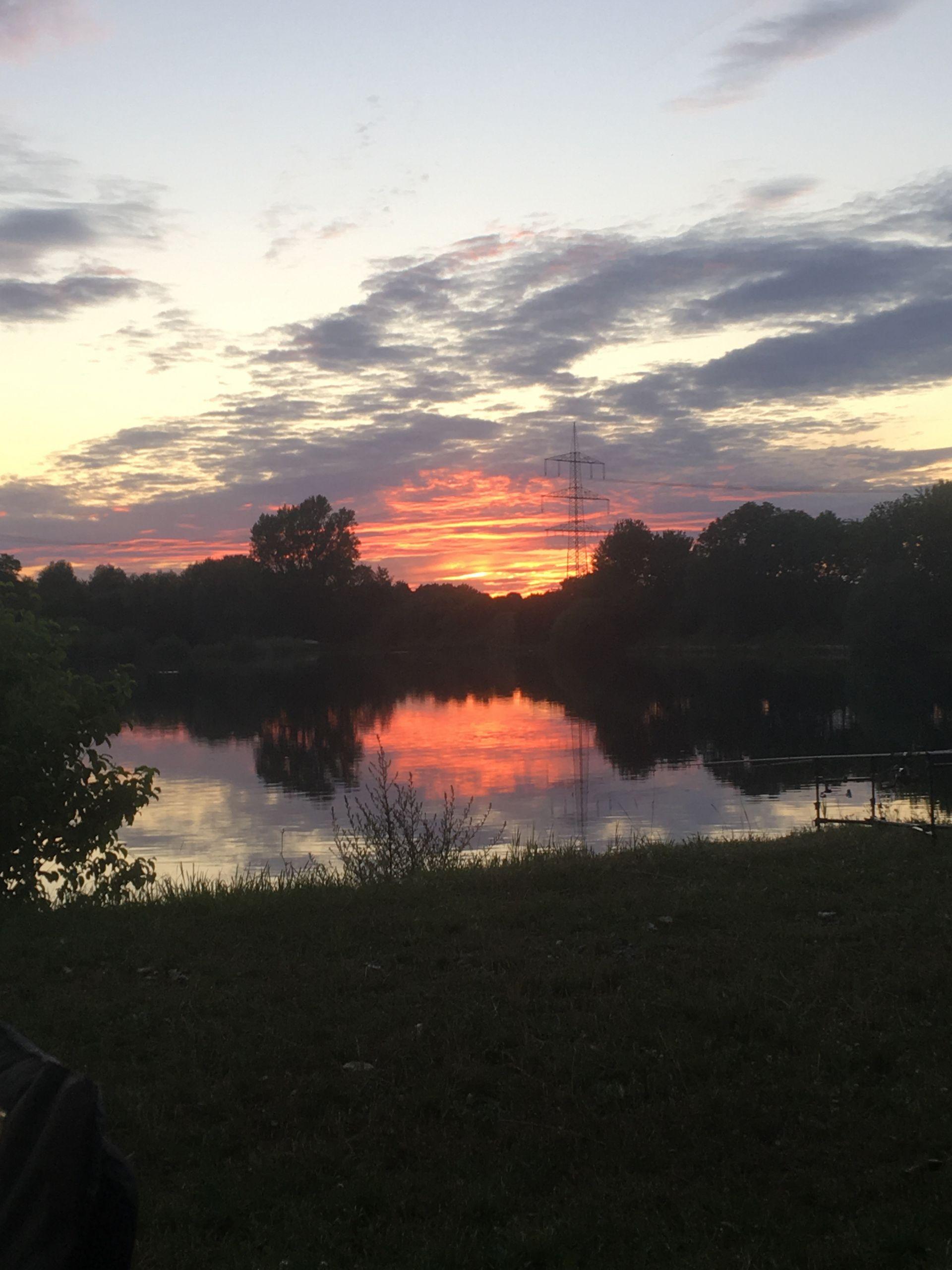 Sonnenuntergang_Römersee